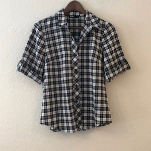 Urban Outfitters-BDG Black and White Plaid